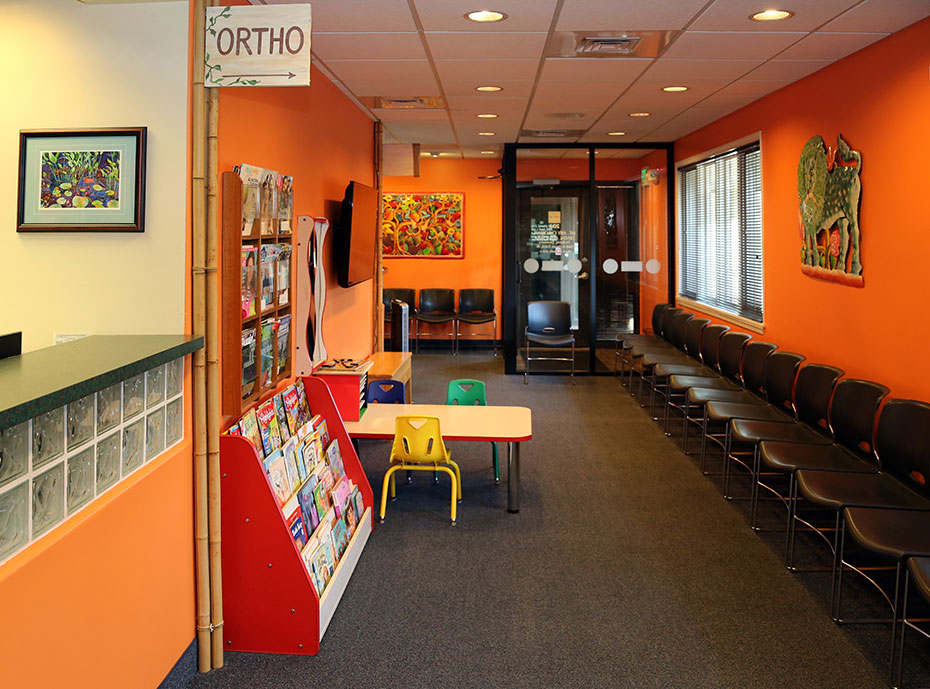 Ortho Waiting Area - Pediatric Dentist in Mount Airy, MD