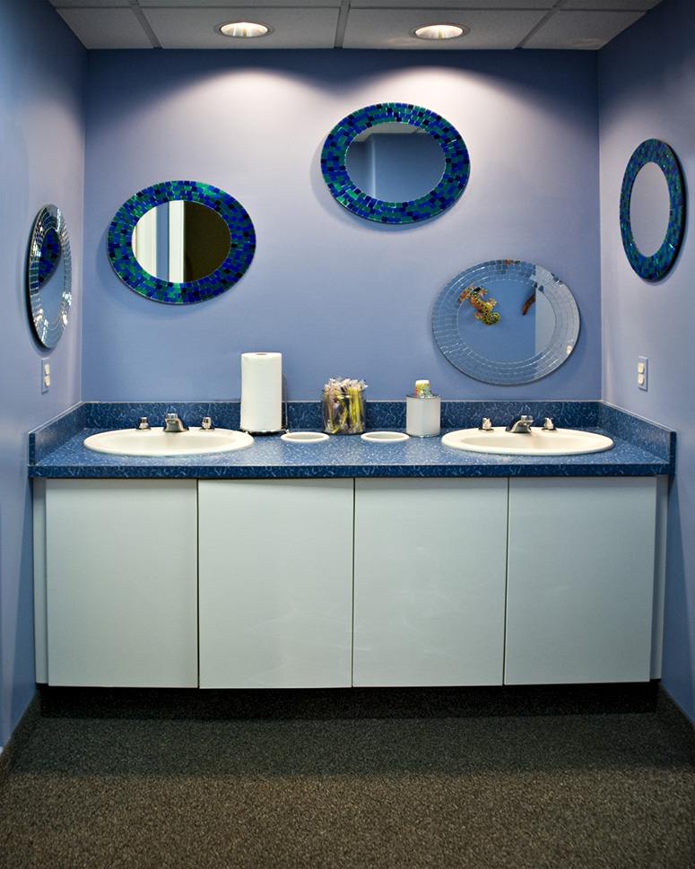 Ortho Brushing Area - Pediatric Dentist in Mount Airy, MD