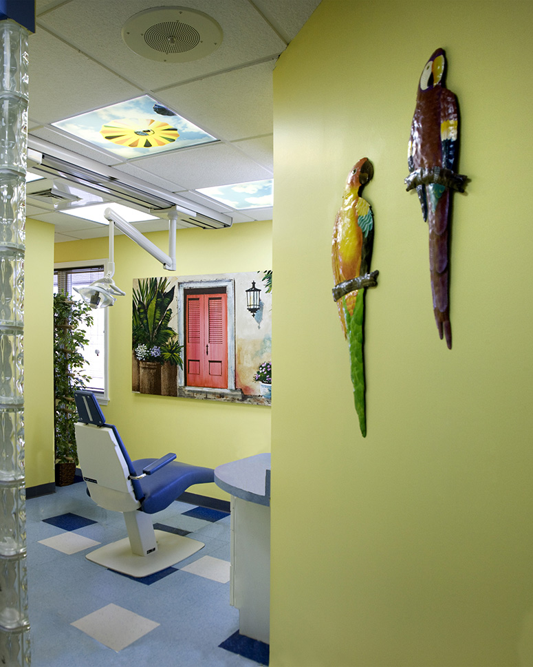 Ortho Exam Room - Pediatric Dentist in Mount Airy, MD