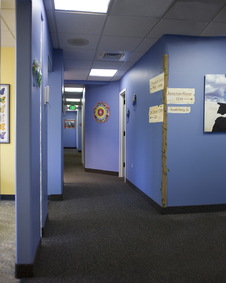 Walkway - Pediatric Dentist in Mount Airy, MD