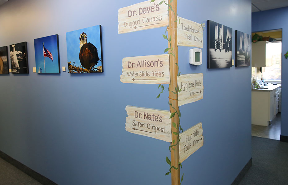 Hallway - Pediatric Dentist in Mount Airy, MD