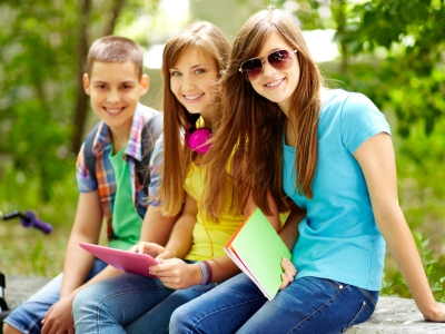 Teens Smilling - Pediatric Dentist in Mount Airy, MD